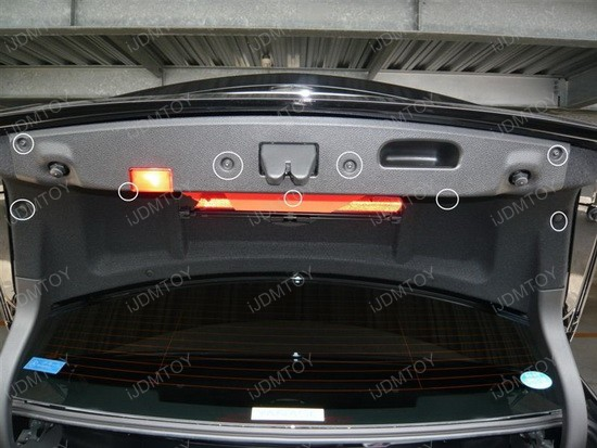 Mercedes - C350 - error - free - led - license - plate - lights - 2